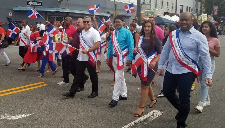 Image result for Dominicanos celebran XVI Desfile y Festival Cultural