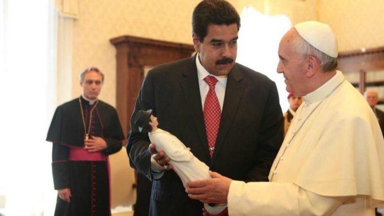 El Papa dice que no mediará en crisis de Venezuela