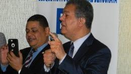 Miami Lakes, FL. El ex presidente Leonel Fernández, en su primer encuentro con La Fuerza del Pueblo en Florida.