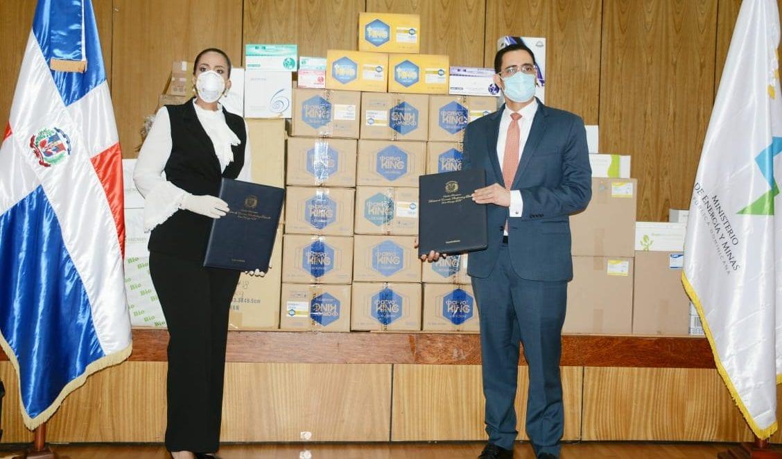 Gabinete dominicano recibe tercera amparo de la OIEA de insumos y equipos para la detección del COVID-19